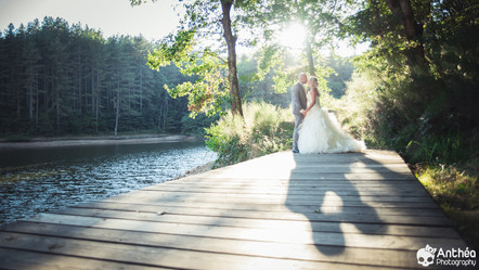 Mariage à St Martin La Plaine - Flamant Rose - Gaelle & Elie