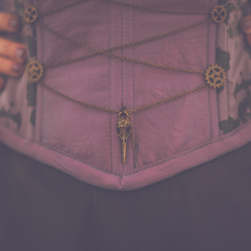 Robe la fée corseté