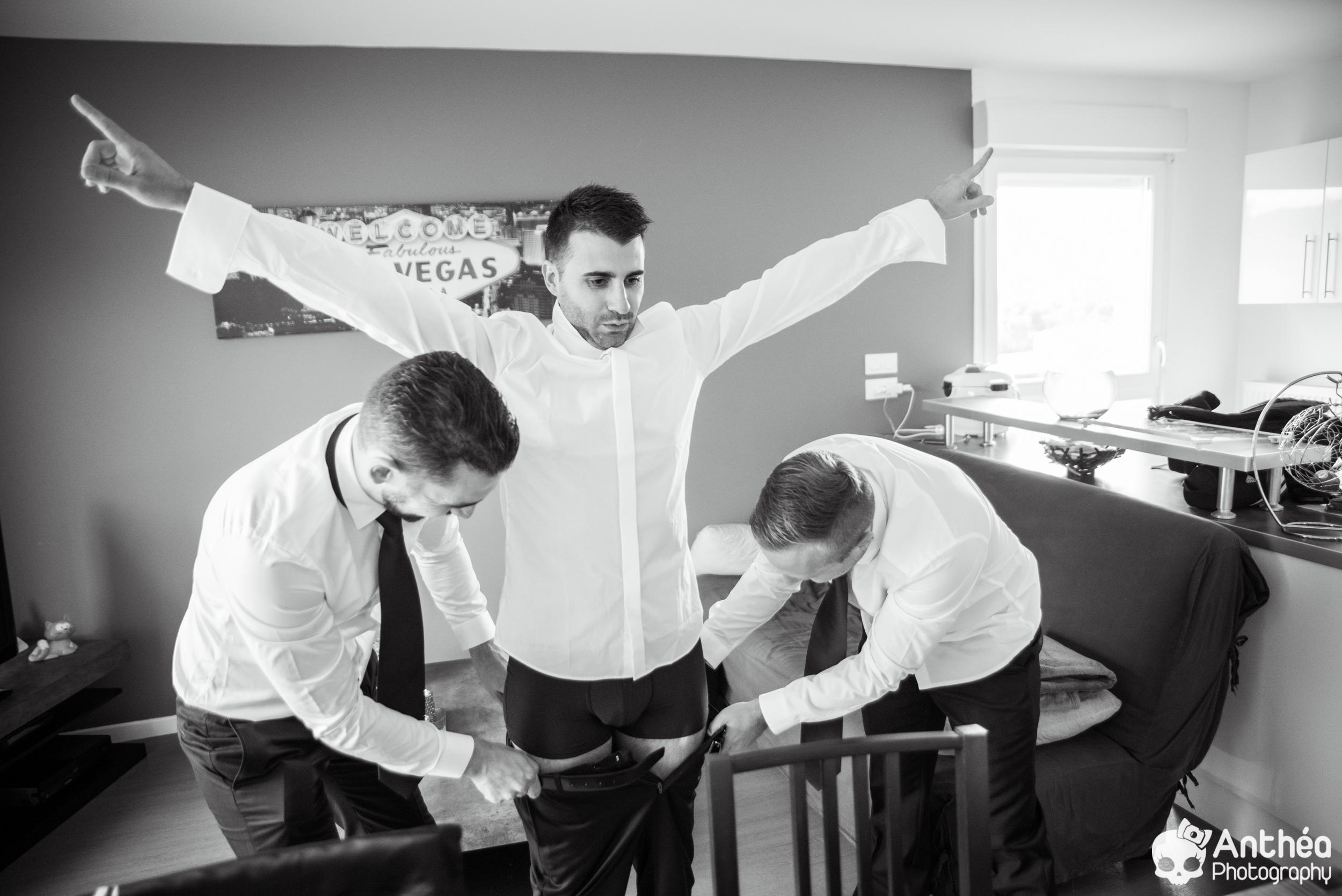 préparatifs marié témoins lyon