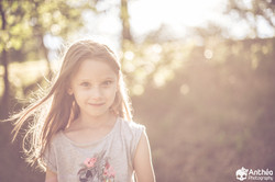 photo enfant séance nature