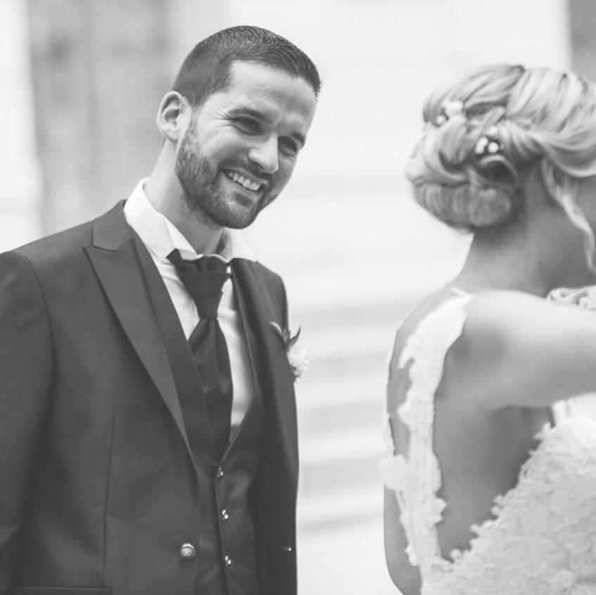 moments intimes mariés