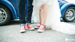 mariage en CONVERSE
