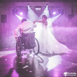 Ouverture de Bal Papa handicapé fill