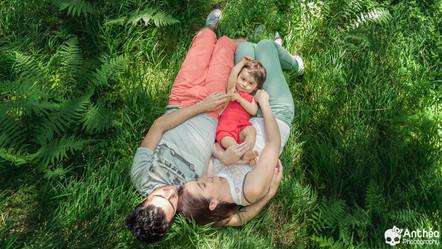 Photographe Nature Famille - Andrea, 1 an tout pile