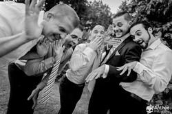 vin d'honneur mariage garçons