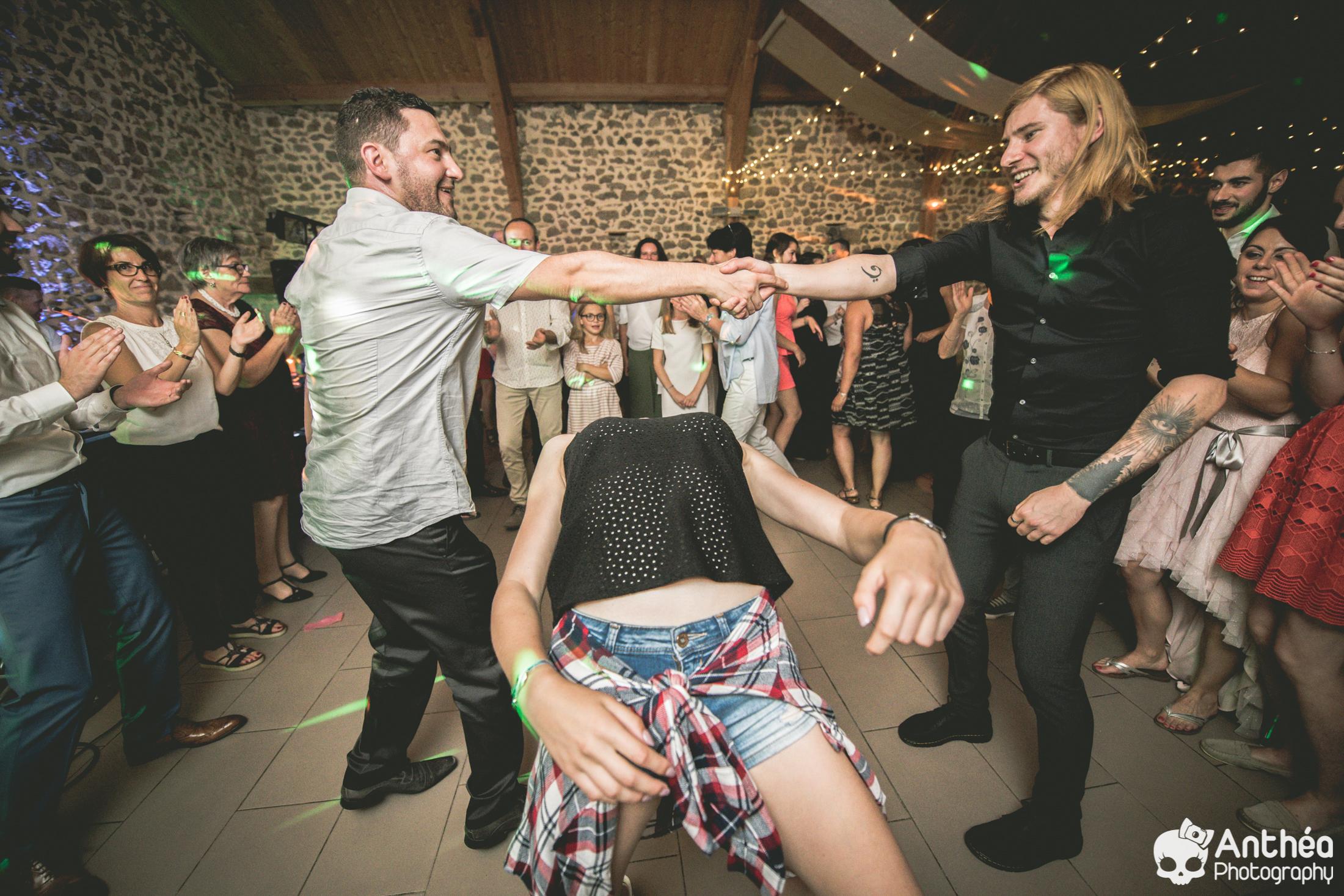 danse et ambiance soirée mariage