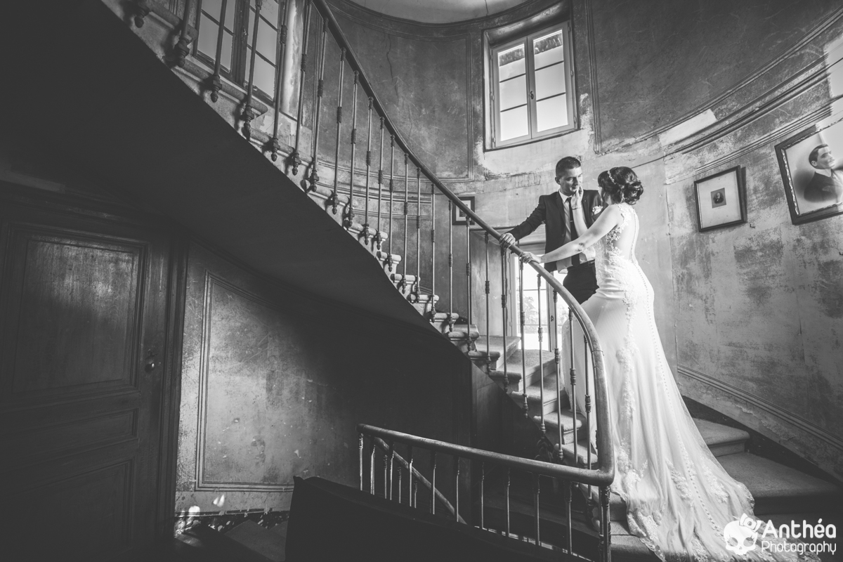 Chateau de Lavée Mariés Mariage