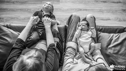 Séance Famille Lifestyle Intime - Photographe Lyon