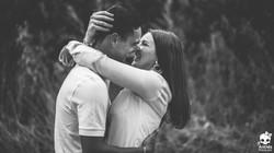 séance engagement avec le mariage