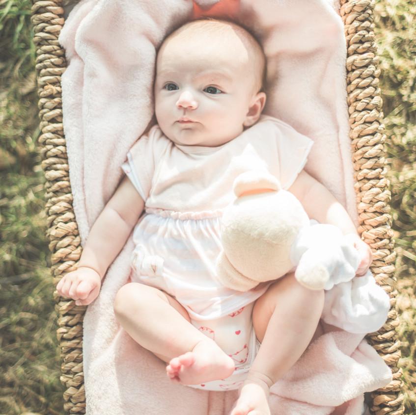 séance photo bébé nature loire