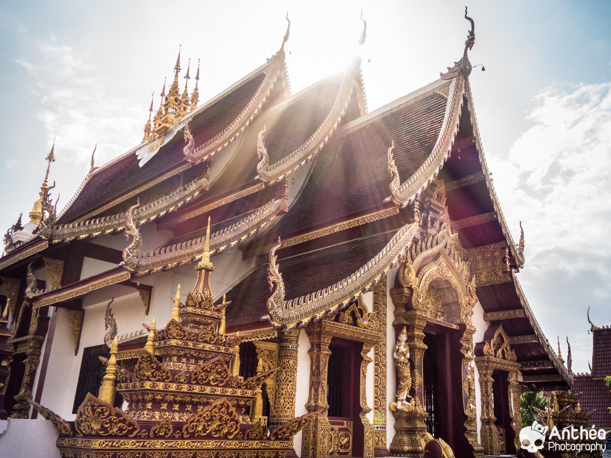 Wat Chiang Mai Thailande