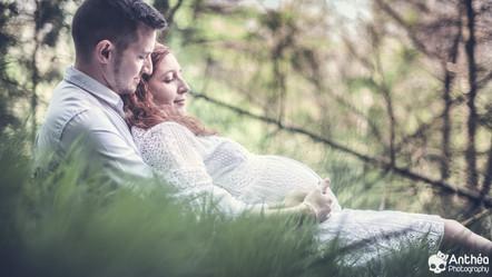 Séance Grossesse - Pregnant Shooting - Monts du Lyonnais - Photographe Lyon France