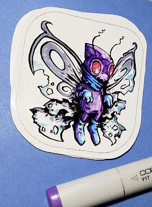 """""""Butterfree"""" Sticker"""