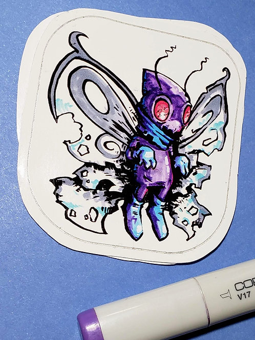 """Butterfree"" Sticker"