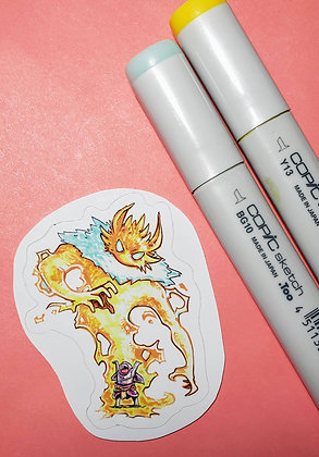 """Jolteon"" Sticker"