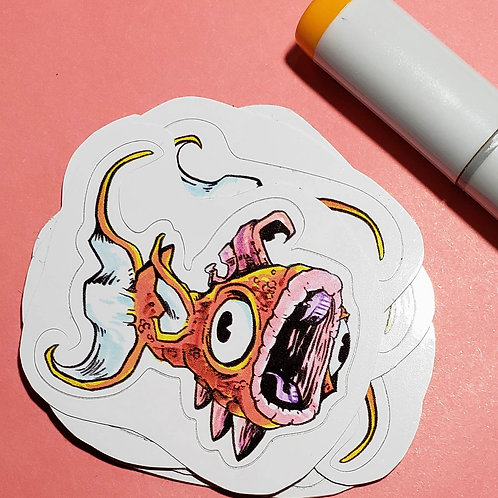 """Magikarp"" Sticker"