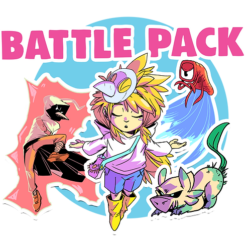 4x Sticker Battle Pack