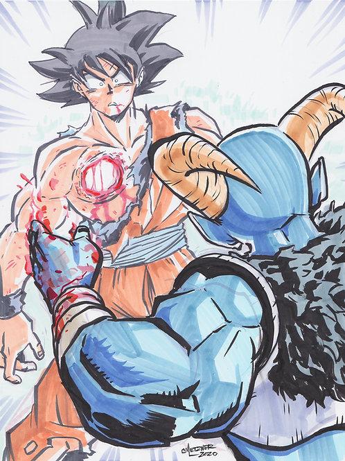 """""""Goku V Moro"""" Original"""