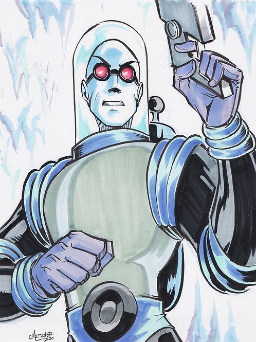 """""""Mr Freeze"""" 8.5x11 Print"""