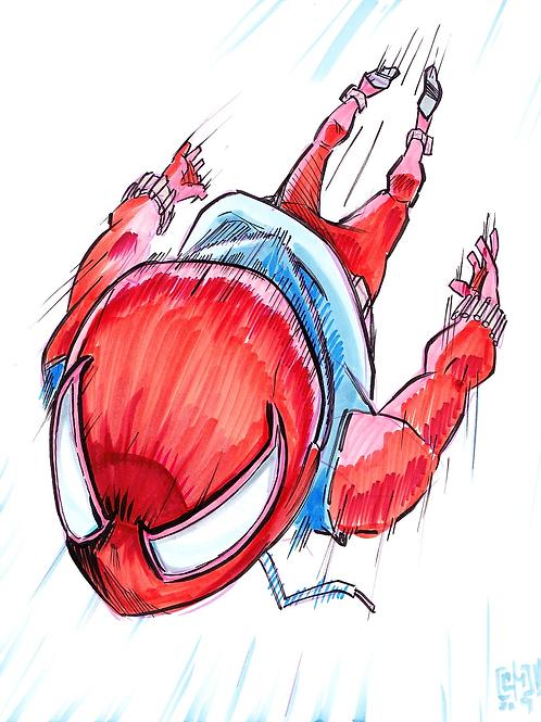 """""""Scarlett Spider"""" Original"""
