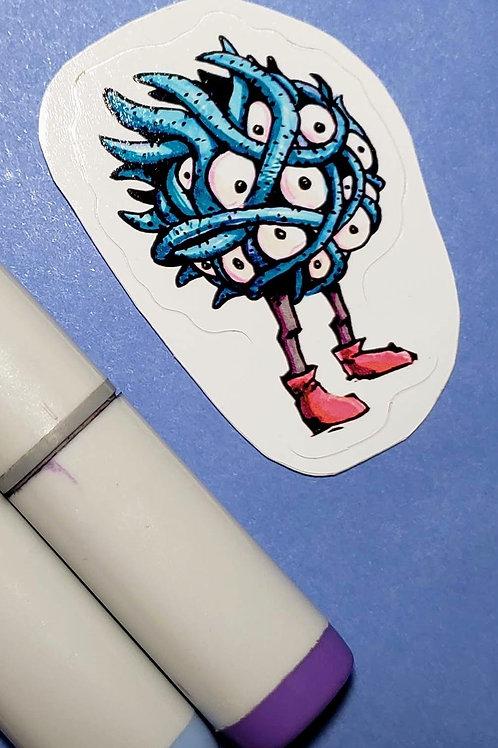 """""""Tangela"""" Sticker"""