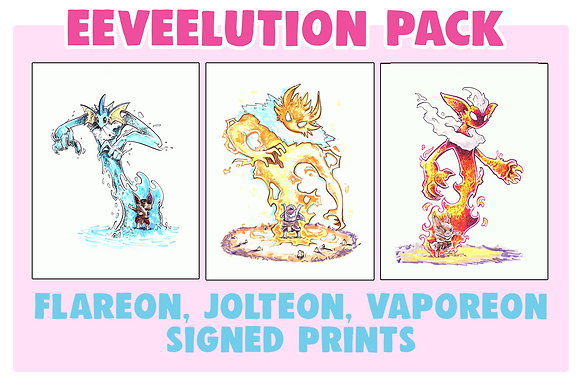 Eeveelution Pack