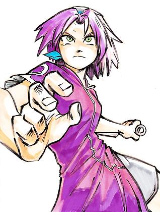 """Sakura"" 8x11"" Print"