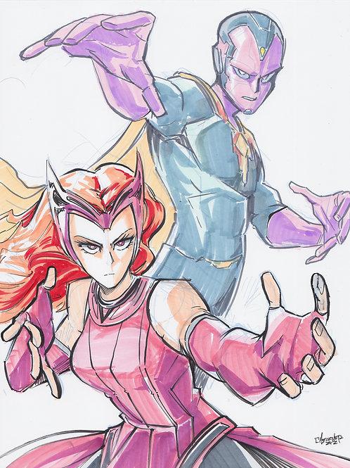 """""""Wanda x Vision"""" Original"""