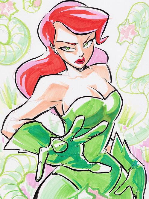 """Poison Ivy"" 8.5x11 Print"