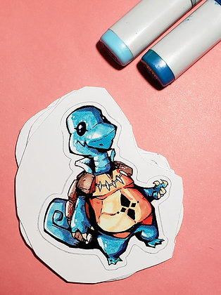 """Squirtle"" Sticker"
