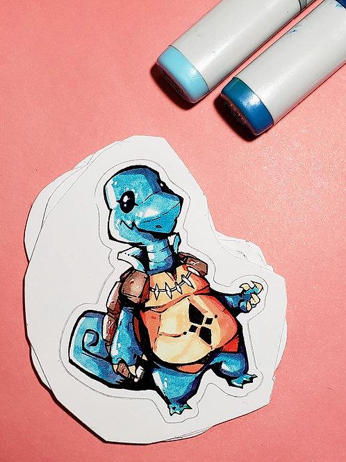 """""""Squirtle"""" Sticker"""