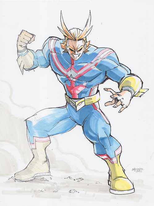 """All Might"" Original"
