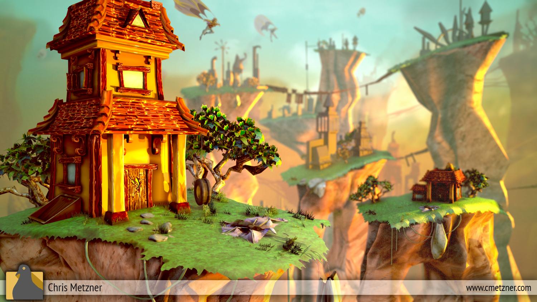 Skyline Flats 3D