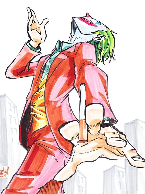 """""""Joker"""" 8x11"""" Print"""