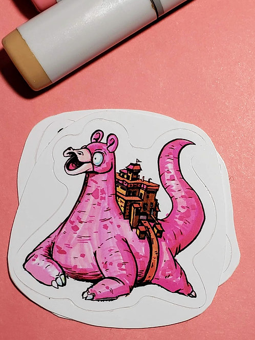 """Slowpoke"" Sticker"