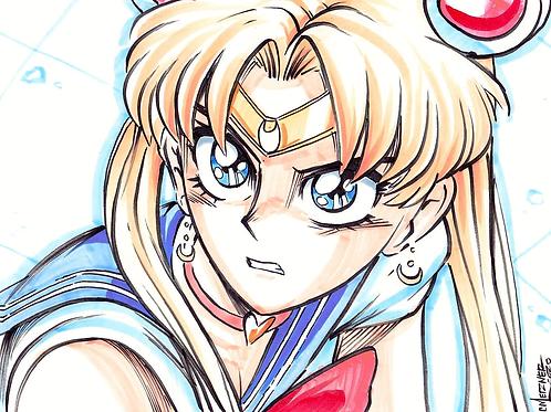 """Sailor Moon Redraw"" Original"
