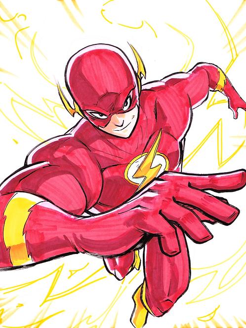 """Flash"" 8x11"" Print"