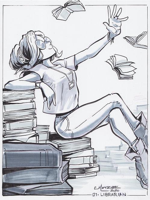 """""""Library"""" Original"""