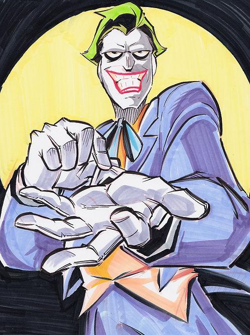 """""""Joker"""" 8.5x11 Print"""