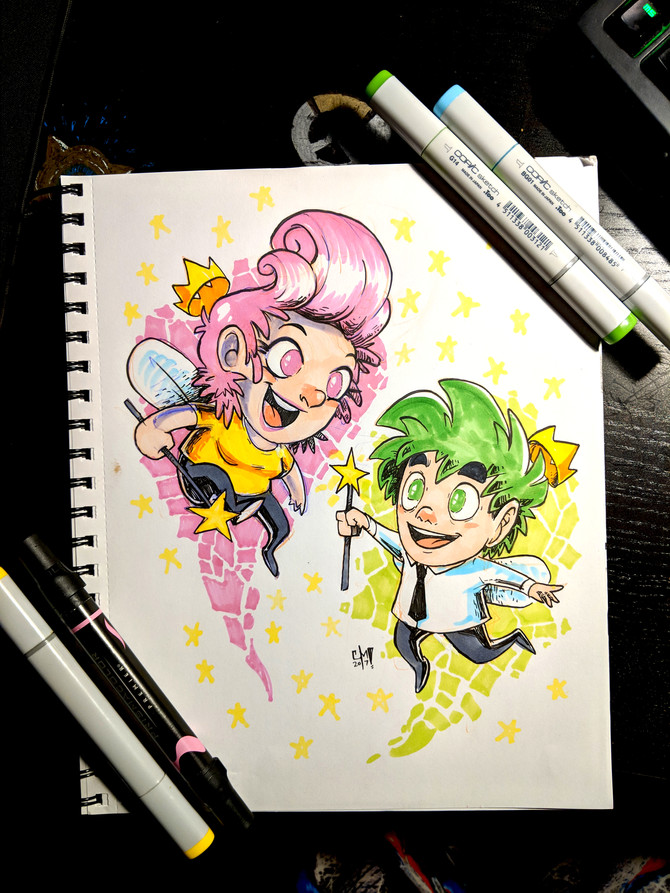 COMMISSION: Fairly Odd Parents!