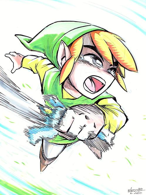 """Link Hyah!!"" Original"