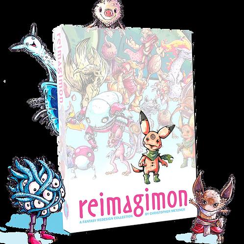 REIMAGIMON Art Book