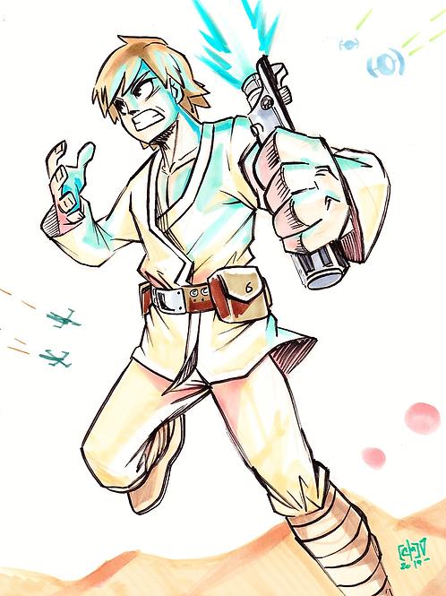"""Luke Skywalker"" Original"