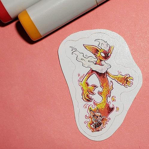 """""""Flareon"""" Sticker"""