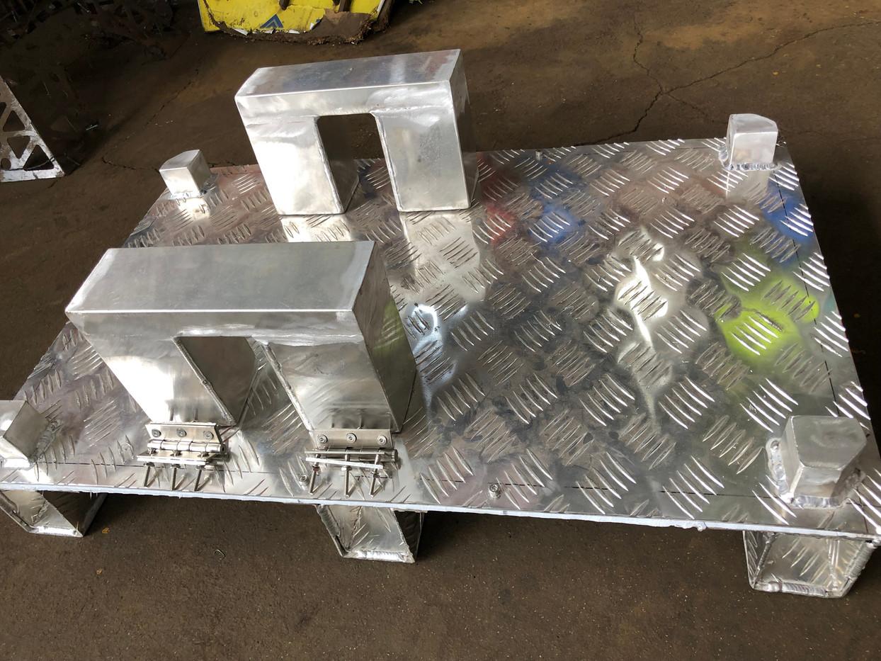 Componentes para Parihuela de Aluminio
