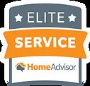 Home advisor elite service badge