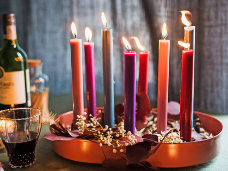 Colour of candles matter!