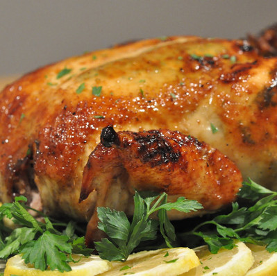 FIRE WOOD ROASTED CHICKEN