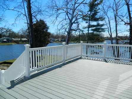 Beautiful Lake Deck