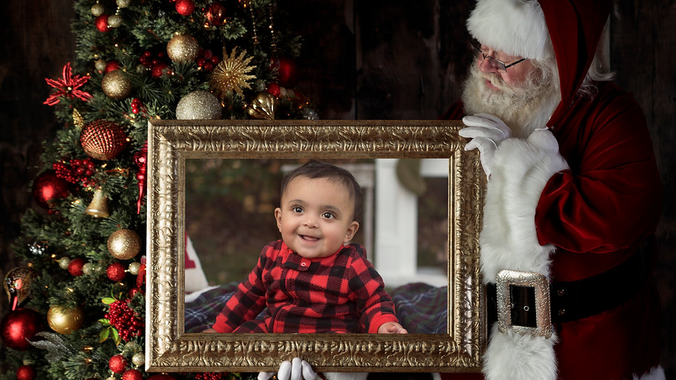 Capture a Moment with Santa - Digital Image